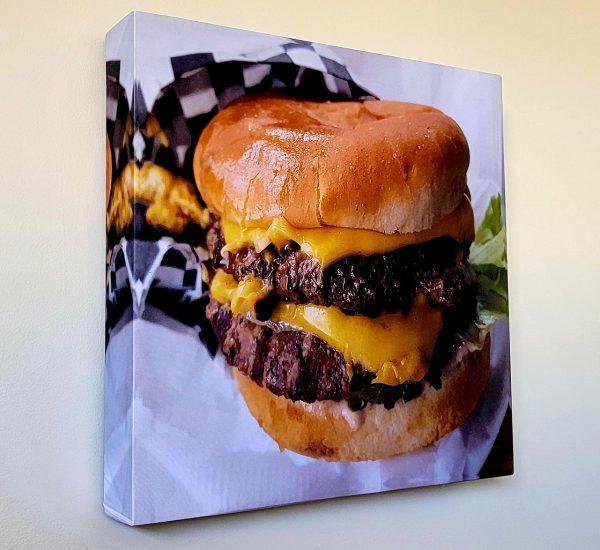 Juicy Cheeseburger print
