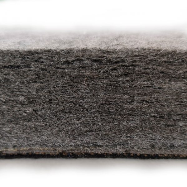 Acoustic Panel with Soundproofing layer closeup