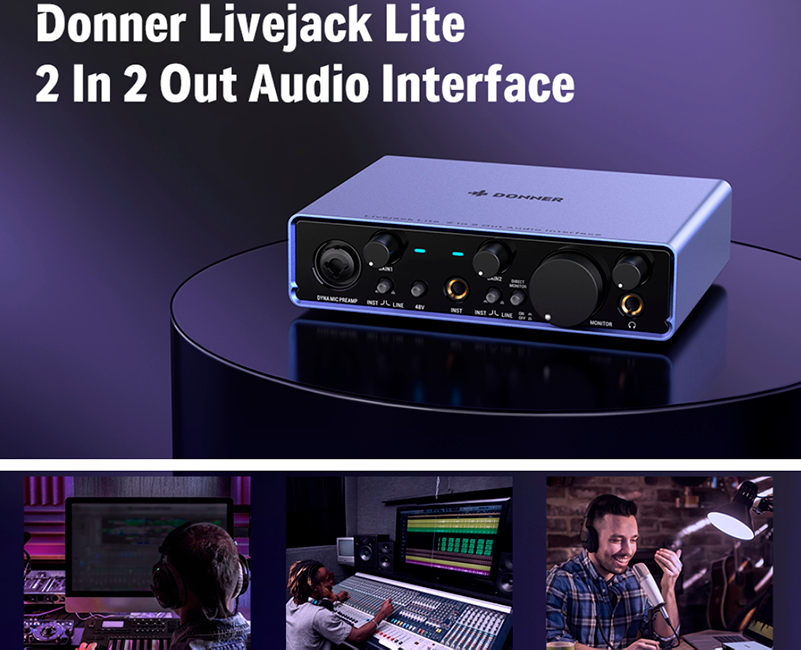Donner Audio Interface